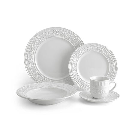 Mikasa American Countryside 5-pc. Place Setting, One Size , White