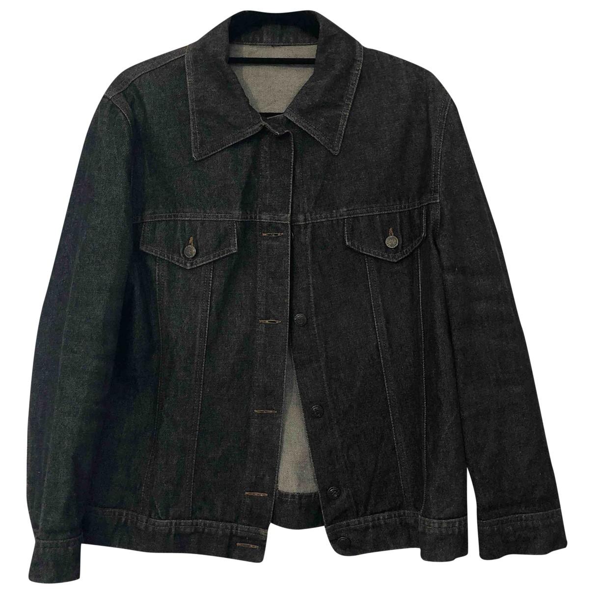 Non Signé / Unsigned \N Black Cotton jacket for Women L International
