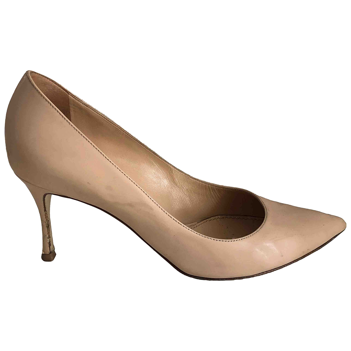 Sergio Rossi \N Pink Patent leather Heels for Women 36.5 IT