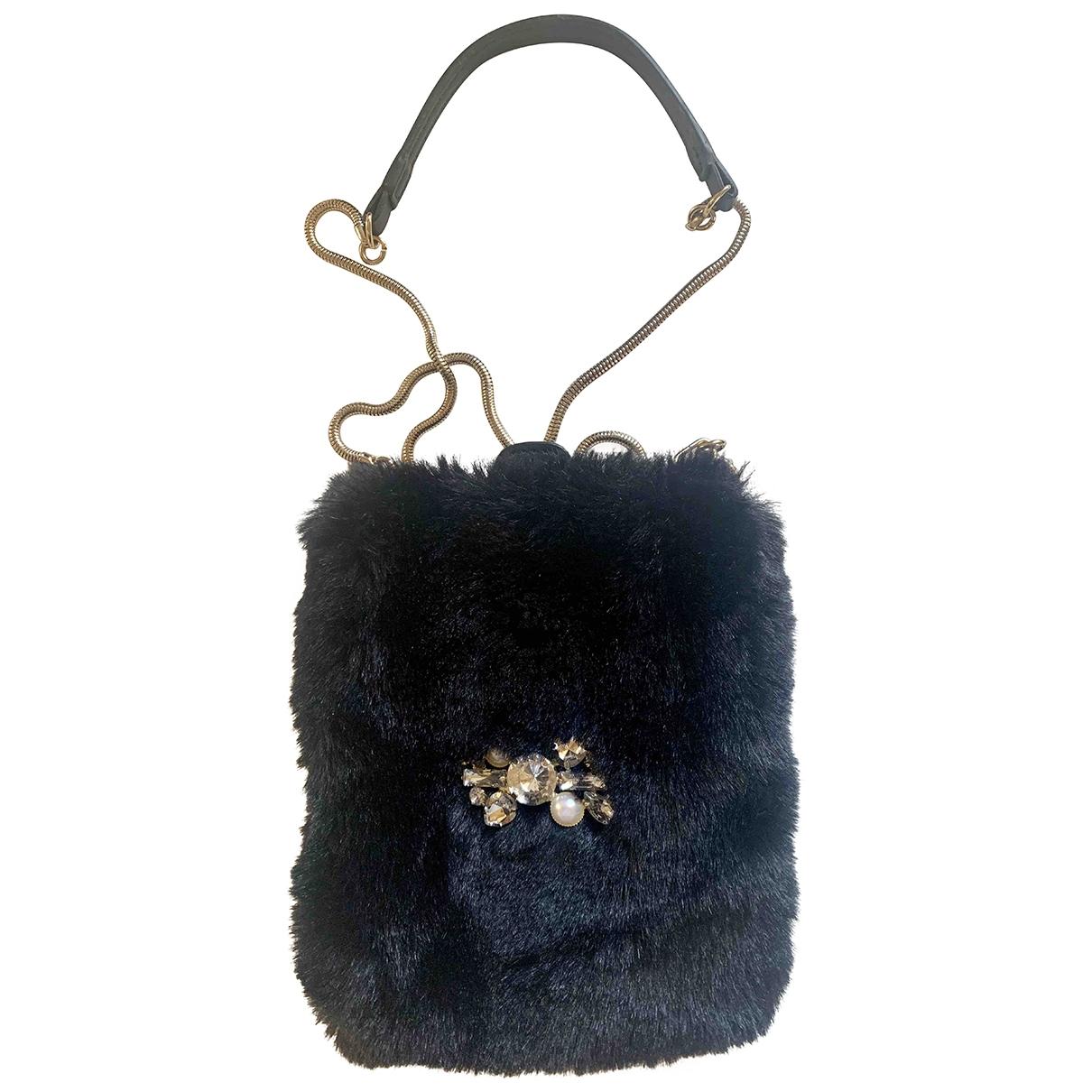 Zara \N Black Faux fur handbag for Women \N