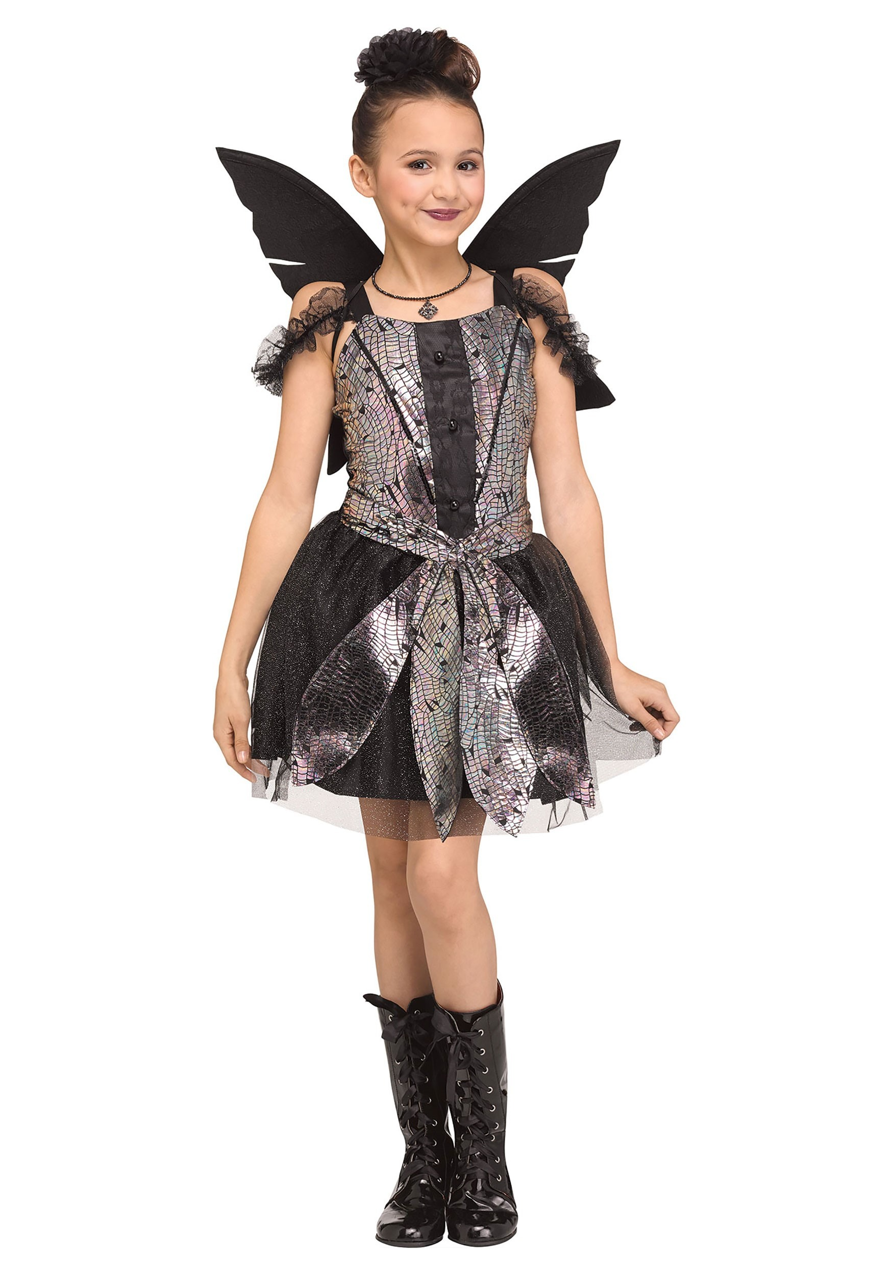 Girls Fairy Dragonfly Costume