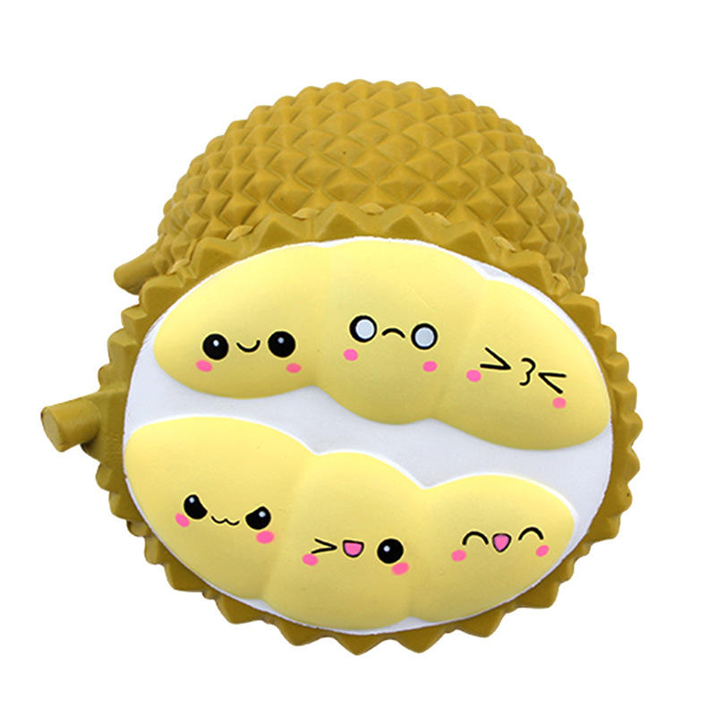 Durian Squishy Slow Rising Rebound Jumbo 20cm Realistic Fruit Decor Toys
