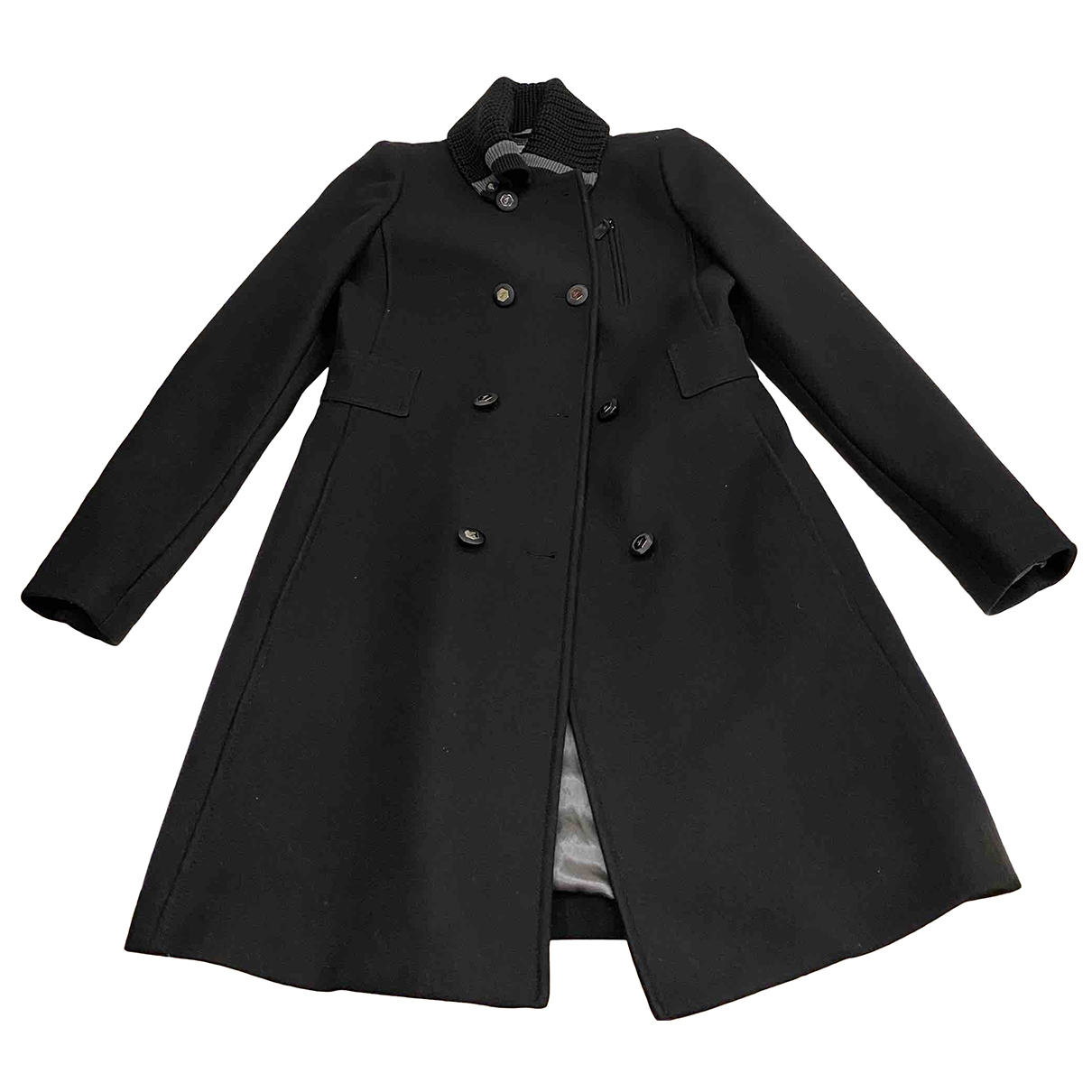 Fay \N Black Wool coat for Women S International