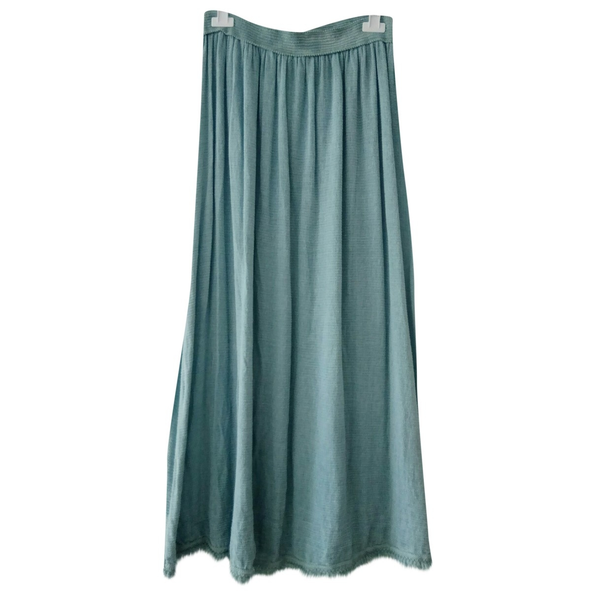 Non Signé / Unsigned \N Blue Cotton skirt for Women One Size FR