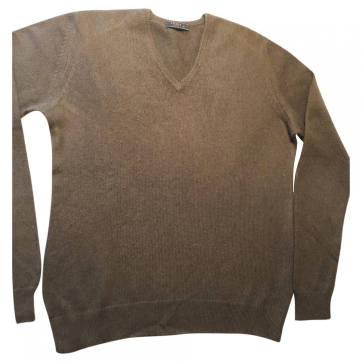 Prada \N Green Cashmere Knitwear & Sweatshirts for Men M International