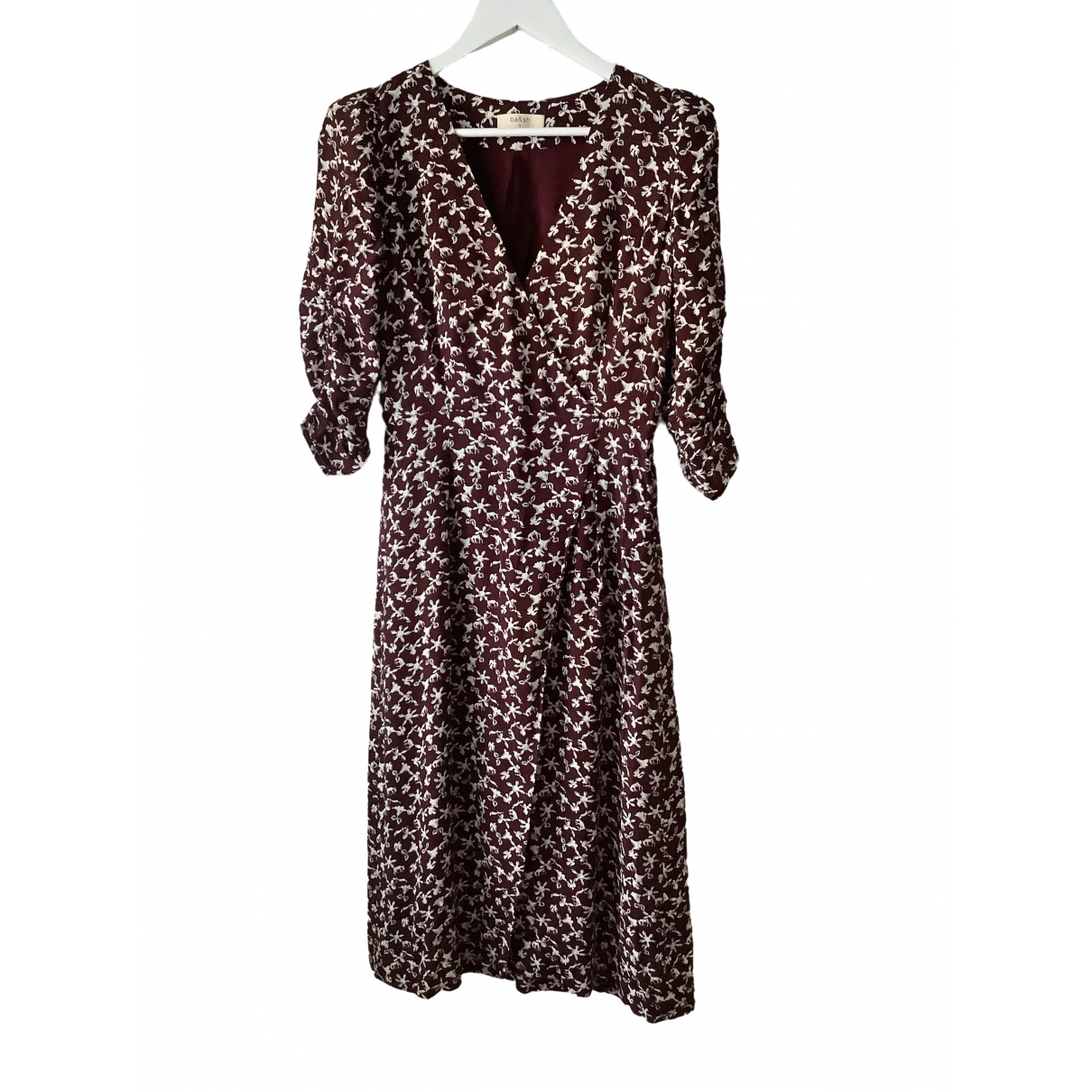 Ba&sh \N Burgundy dress for Women 36 FR
