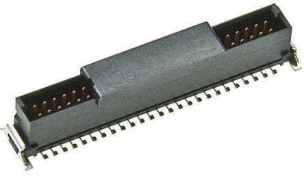 ERNI , SMC, 68 Way, 2 Row, Vertical PCB Header