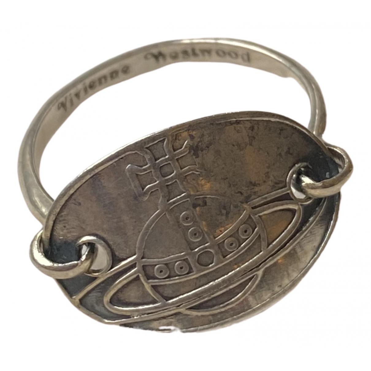 Vivienne Westwood \N Silver Silver ring for Women 52 EU