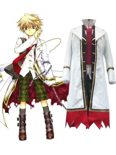 Milanoo Pandora Hearts Oz Vessalius With Over Coat Cosplay Costume Halloween