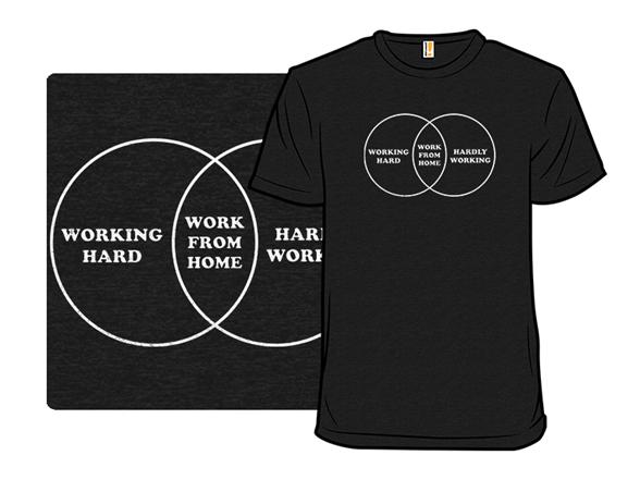 Work Diagram T Shirt