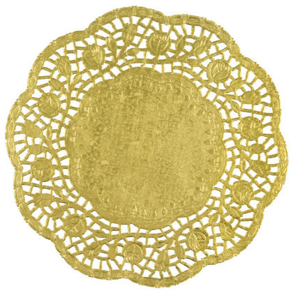 Party Paper Doilies Foil Lace Doily Table Decor 8.25