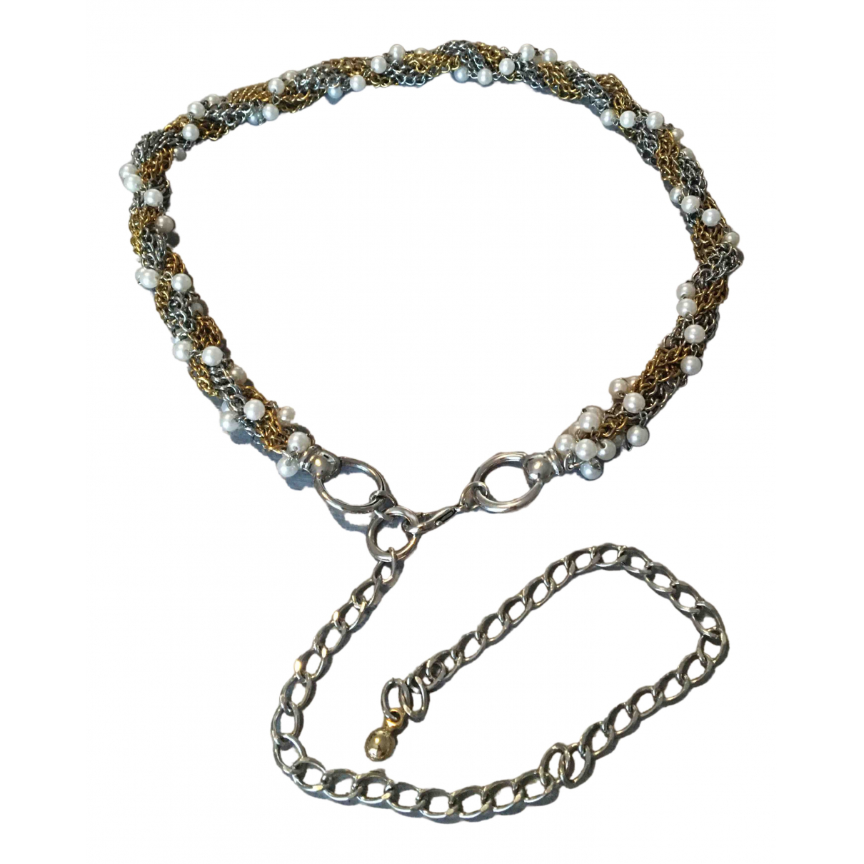 Non Signé / Unsigned \N Gold Chain belt for Women 80 cm
