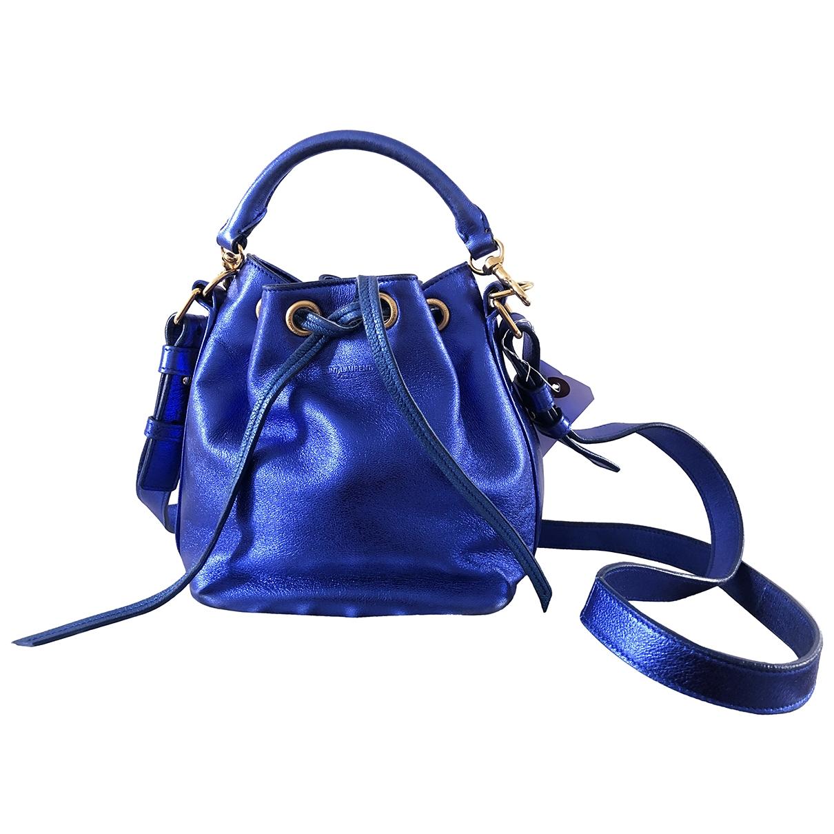 Saint Laurent Emmanuelle Blue Leather handbag for Women \N