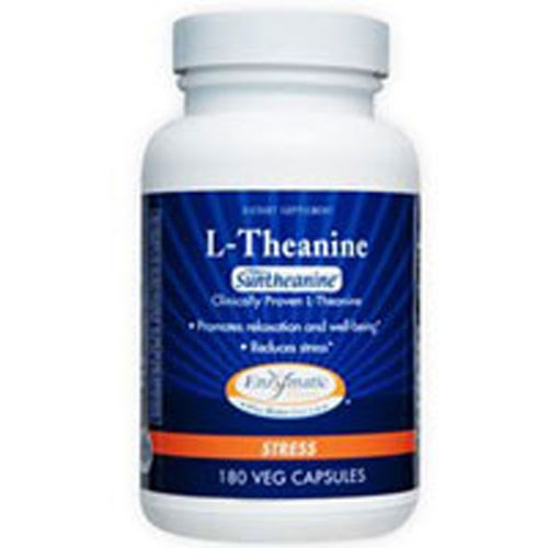 L-Theanine 180 Ultracaps by Enzymatic Therapy