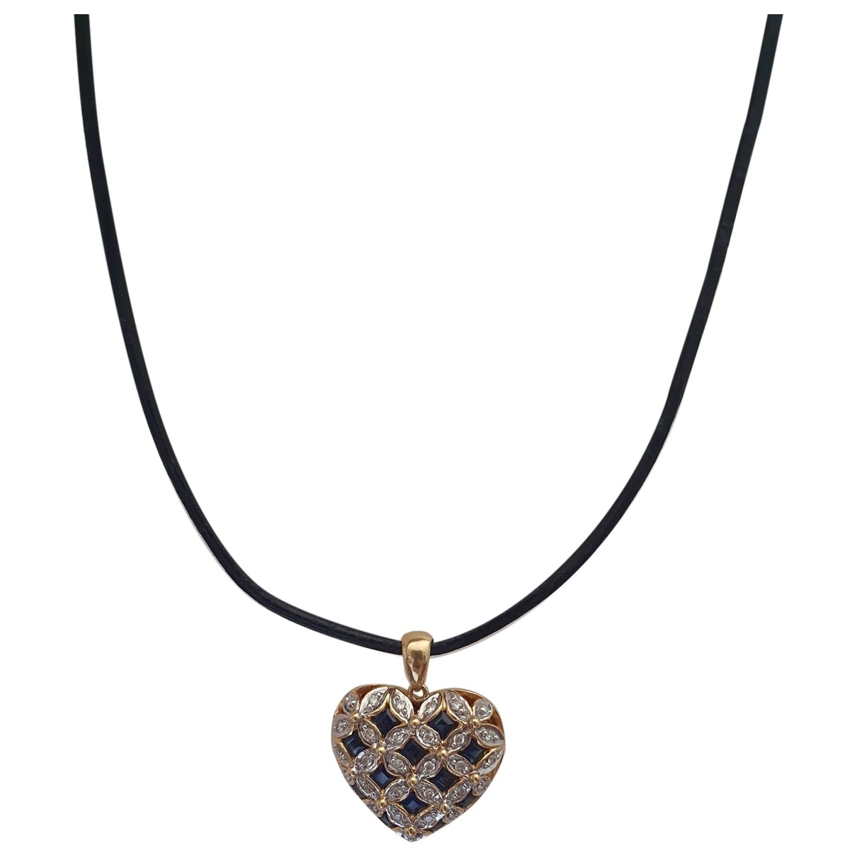 Non Sign?? / Unsigned Motifs Coeurs Gold Yellow gold necklace for Women \N