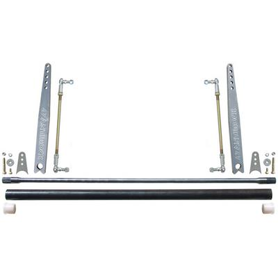RockJock Universal Antirock Sway Bar Kit, 50 x 1 Inch Bar with 18 Inch Aluminum Arms - CE-9906A-18