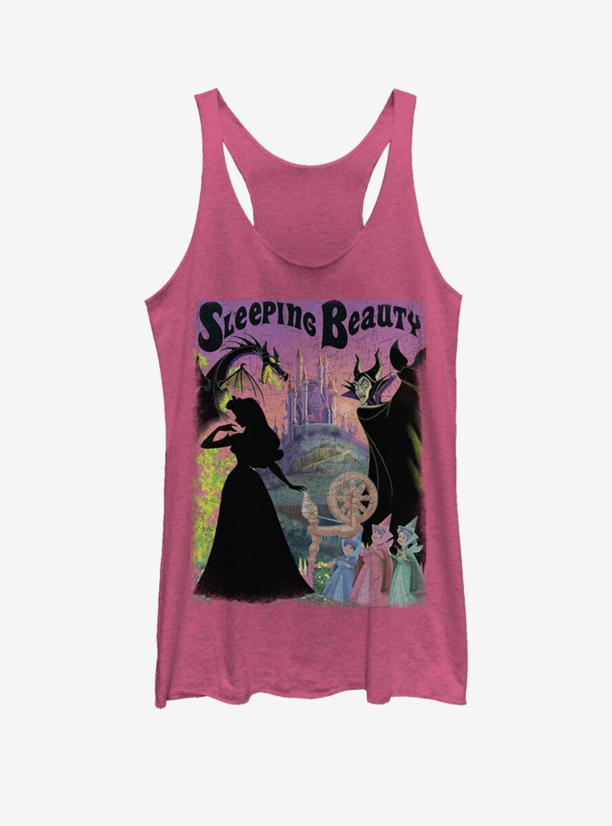 Disney Sleeping Beauty Poster Womens Tank Top