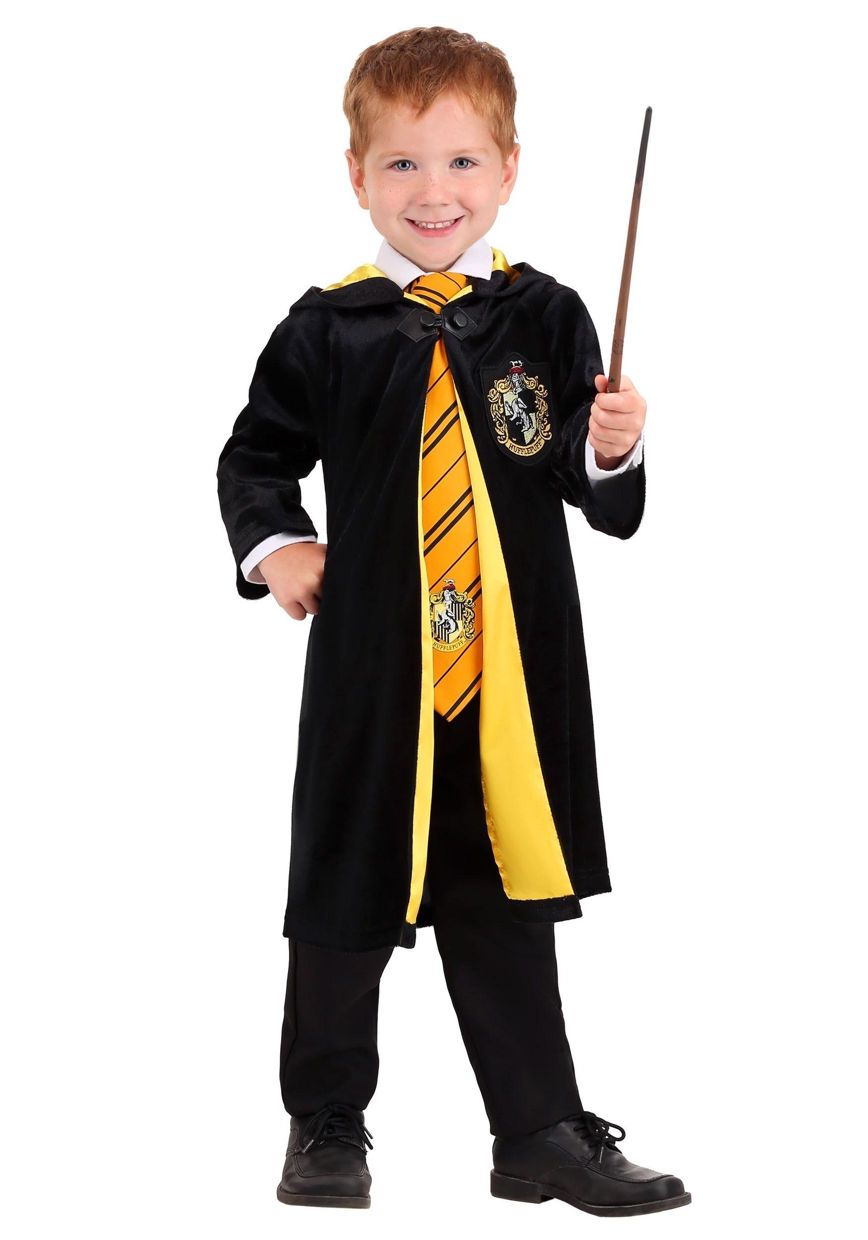 Harry Potter Deluxe Toddler's Hufflepuff Robe