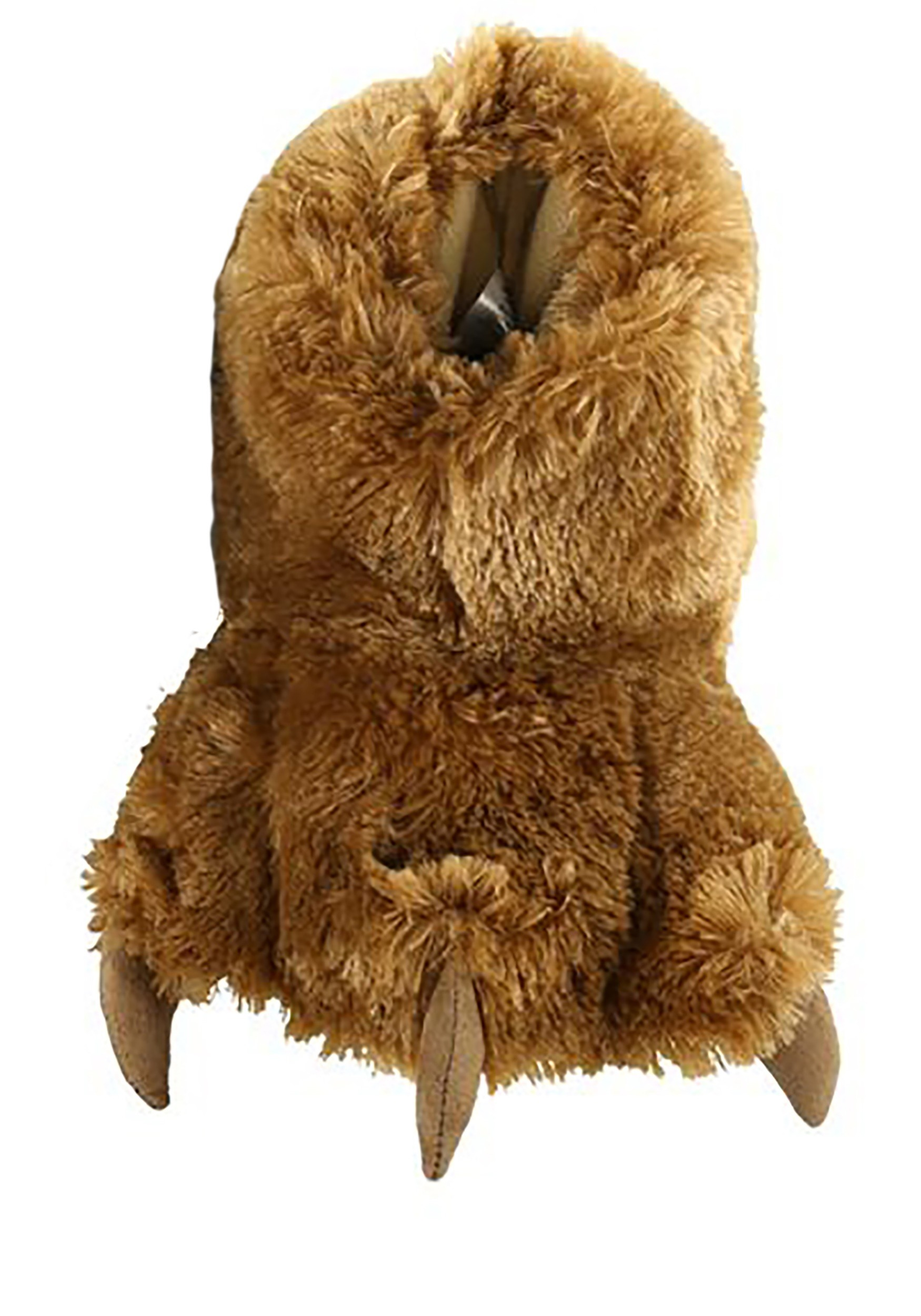 Brown Bear Paw Child Slippers
