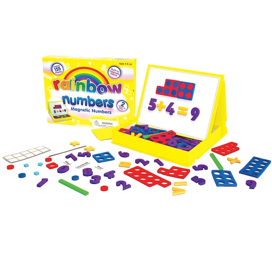 Junior Learning® Rainbow Numbers Magnetic Numbers | Michaels®