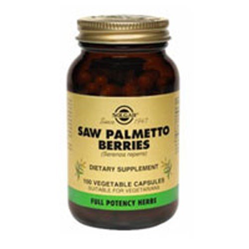 FP Saw Palmetto Berries Vegetable Capsules 100 V Caps by Solgar