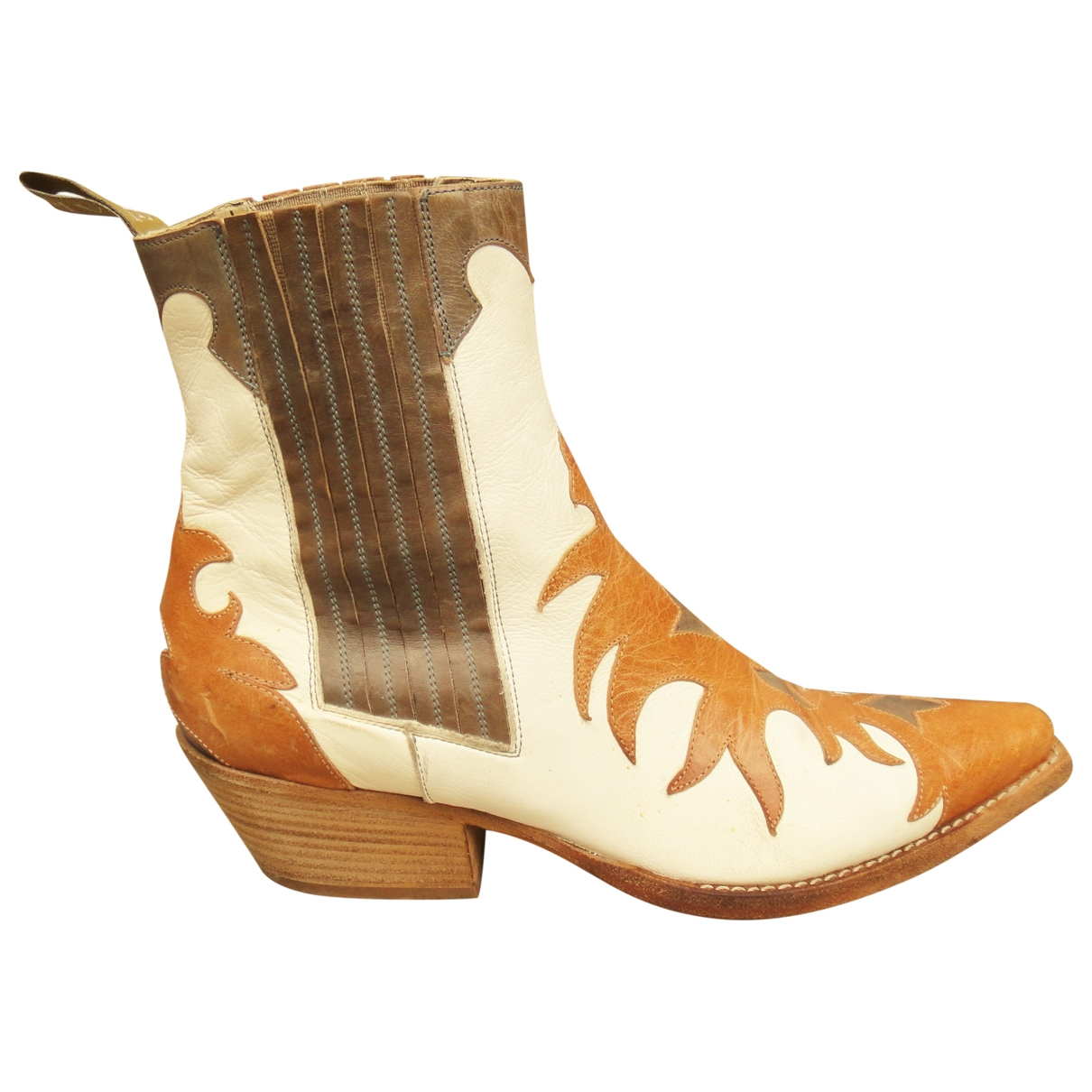 Sartore \N Multicolour Leather Ankle boots for Women 38 EU
