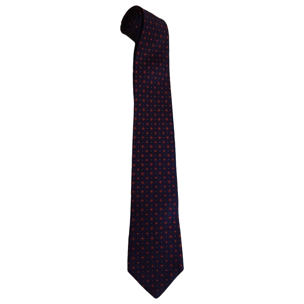 Dior \N Blue Silk Ties for Men \N