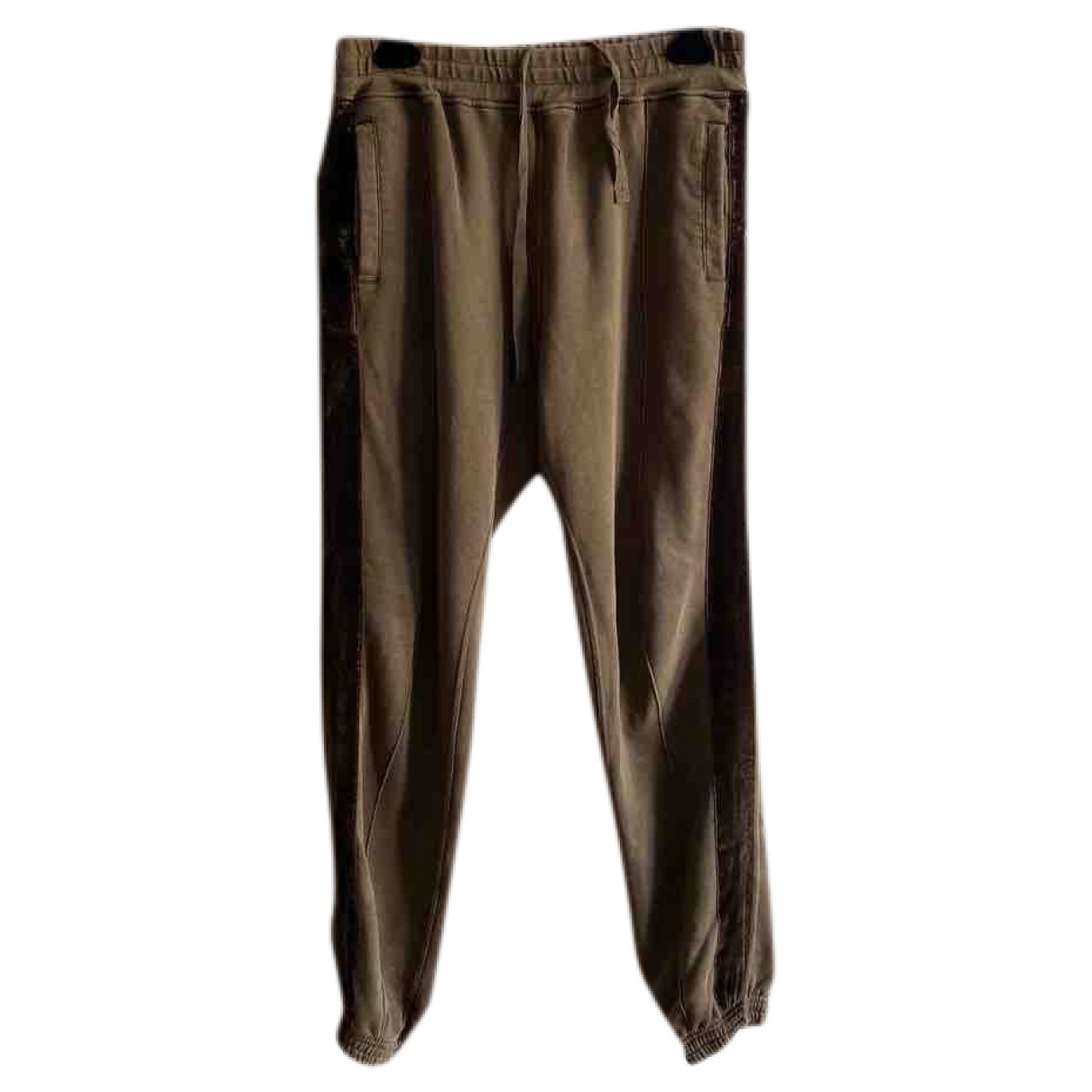 Haider Ackermann \N Brown Cotton Trousers for Men M International