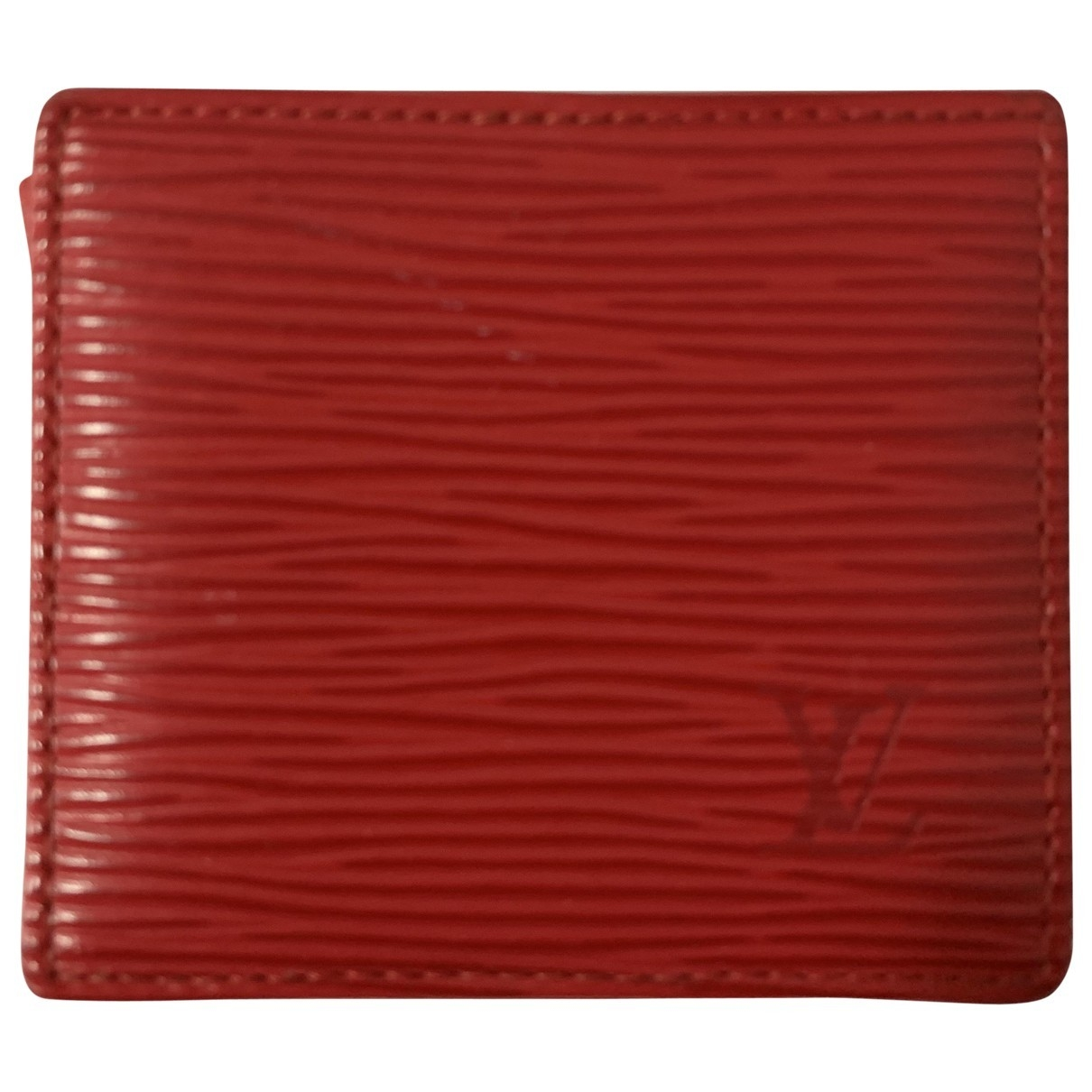 Louis Vuitton \N Red Leather Purses, wallet & cases for Women \N