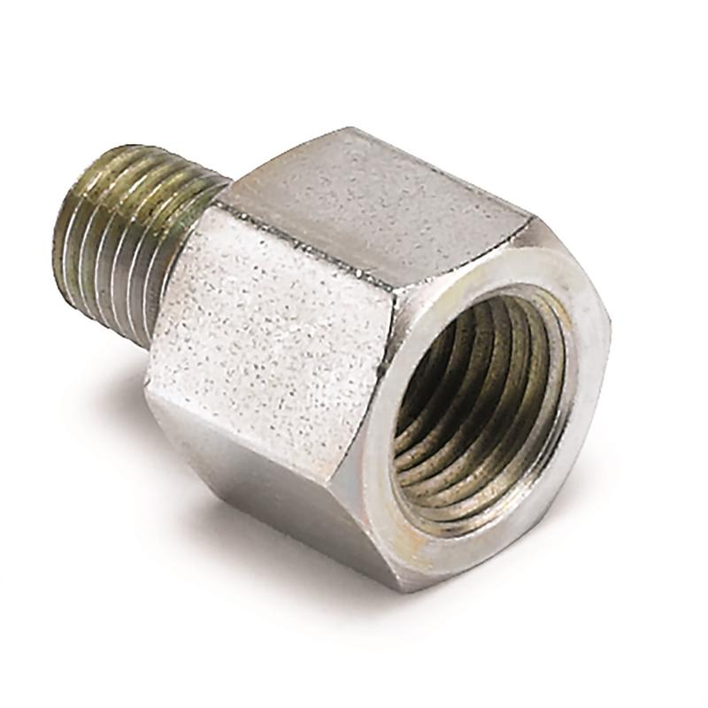 AutoMeter FITTING; ADAPTER; 1/8in. NPTF FEMALE TO 1/16in. NPT MALE; FOR FORD FUEL RAIL