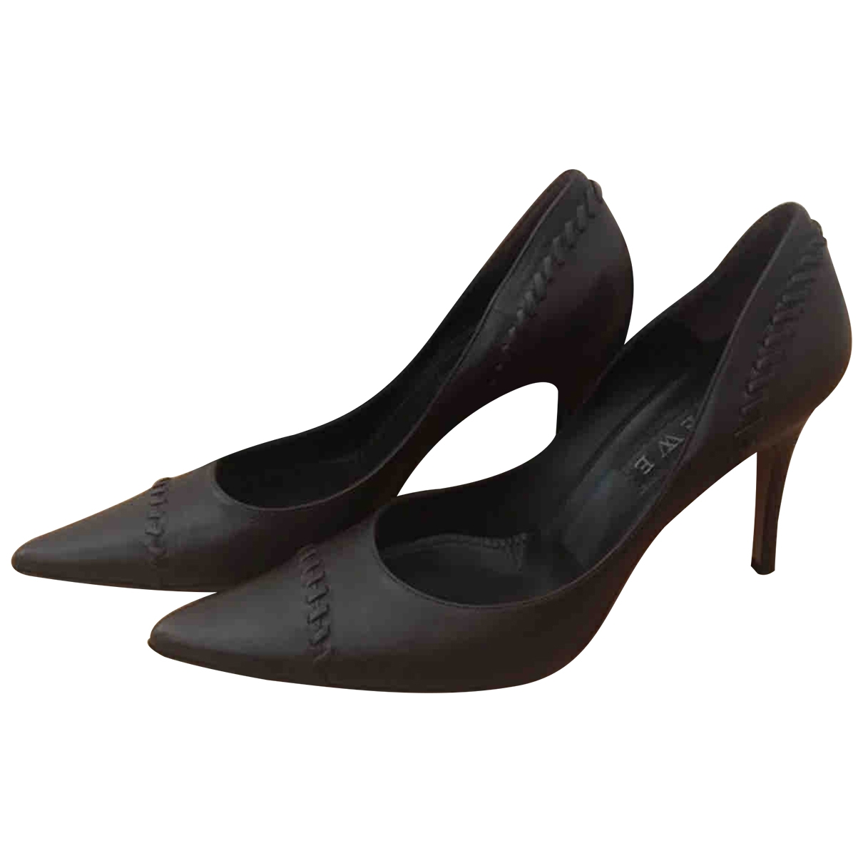 Loewe \N Brown Leather Heels for Women 40 EU