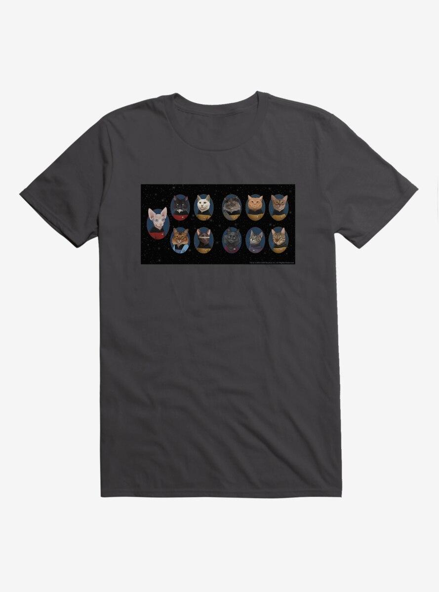 Star Trek The Next Generation Cats Meet The Cats T-Shirt