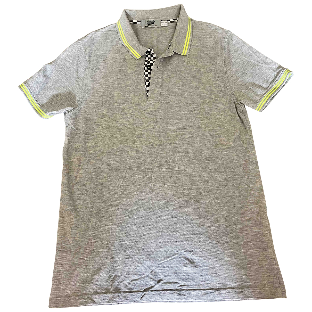 Topman \N Grey Cotton Polo shirts for Men M International