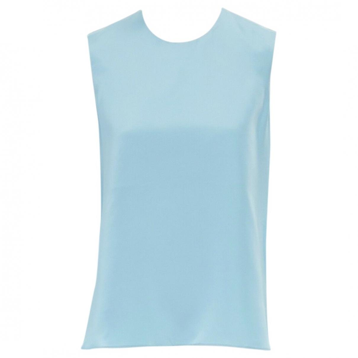 Roksanda \N Blue Silk  top for Women 10 UK