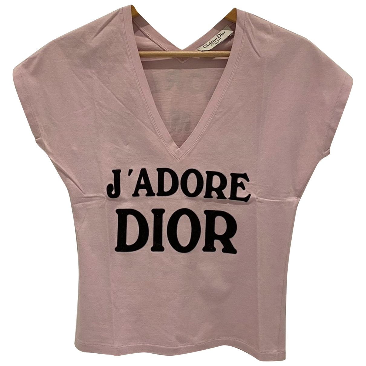 Dior \N Pink Cotton  top for Women 36 FR