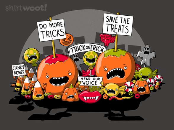 Treats On Strike T Shirt
