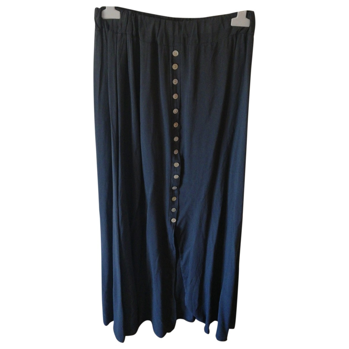 Non Signé / Unsigned \N Anthracite skirt for Women One Size International
