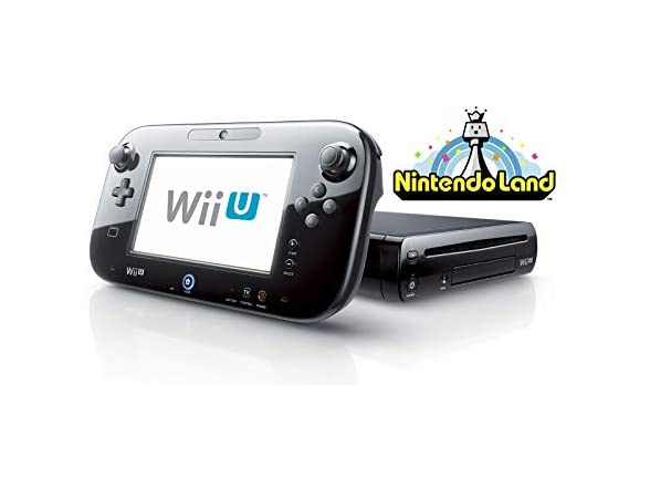 Nintendo Wii U Console 32gb Land Bundle