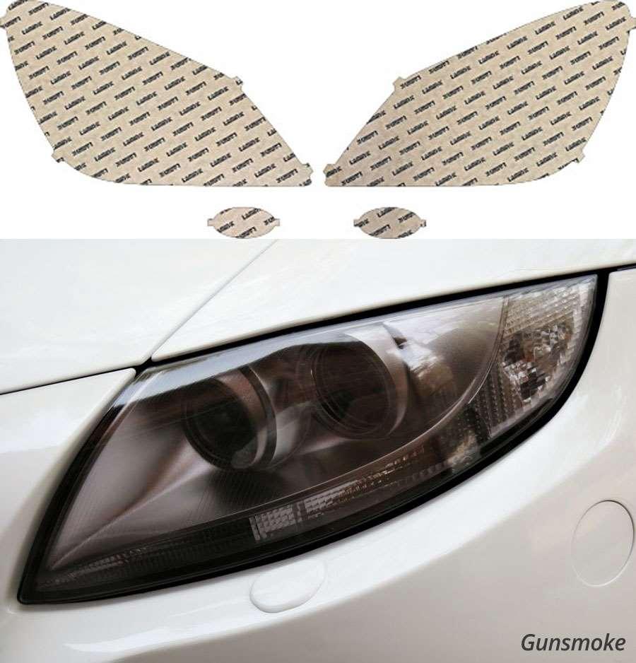 Honda Odyssey 08-10 Gunsmoke Headlight Covers Lamin-X H530G