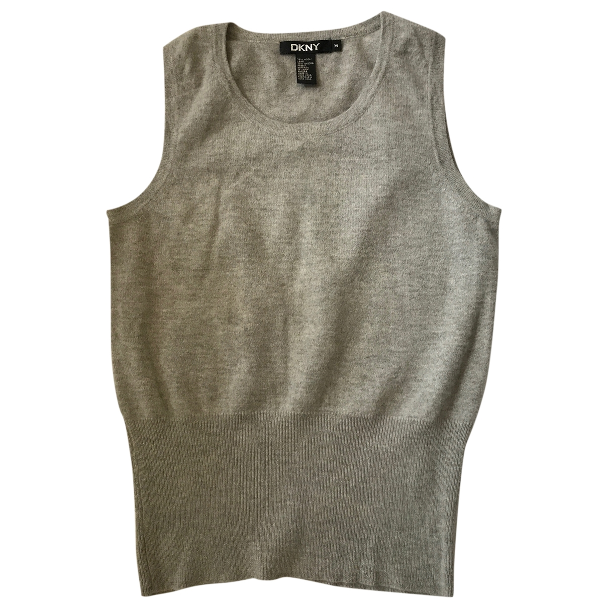 Dkny \N Grey Wool  top for Women M International