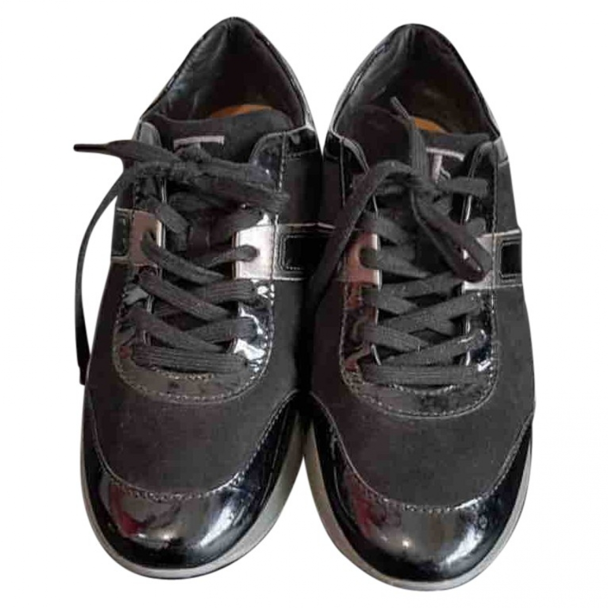 Tod's \N Black Leather Trainers for Women 36.5 EU