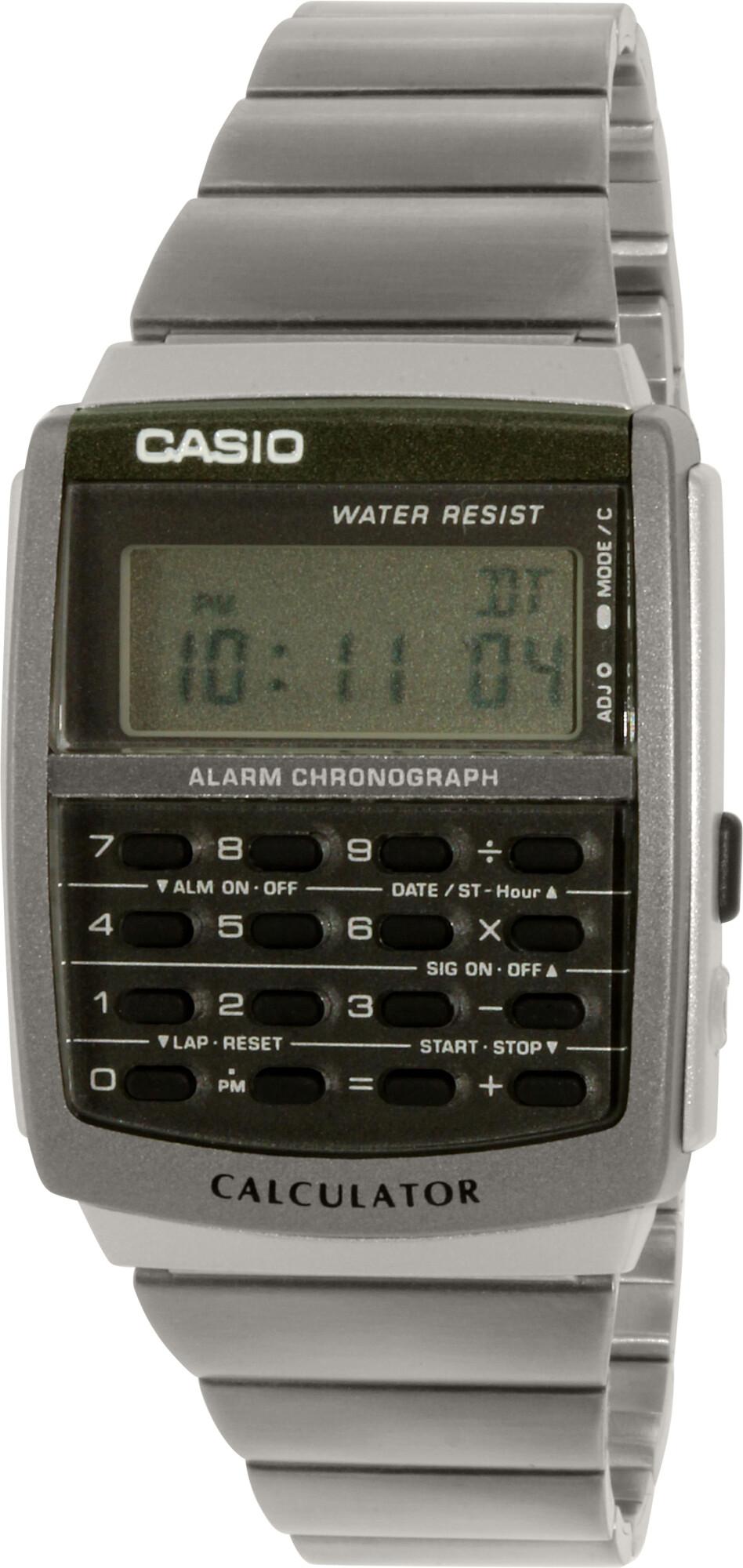 Casio Men's Core CA506-1 Silver Metal Quartz Dress Watch
