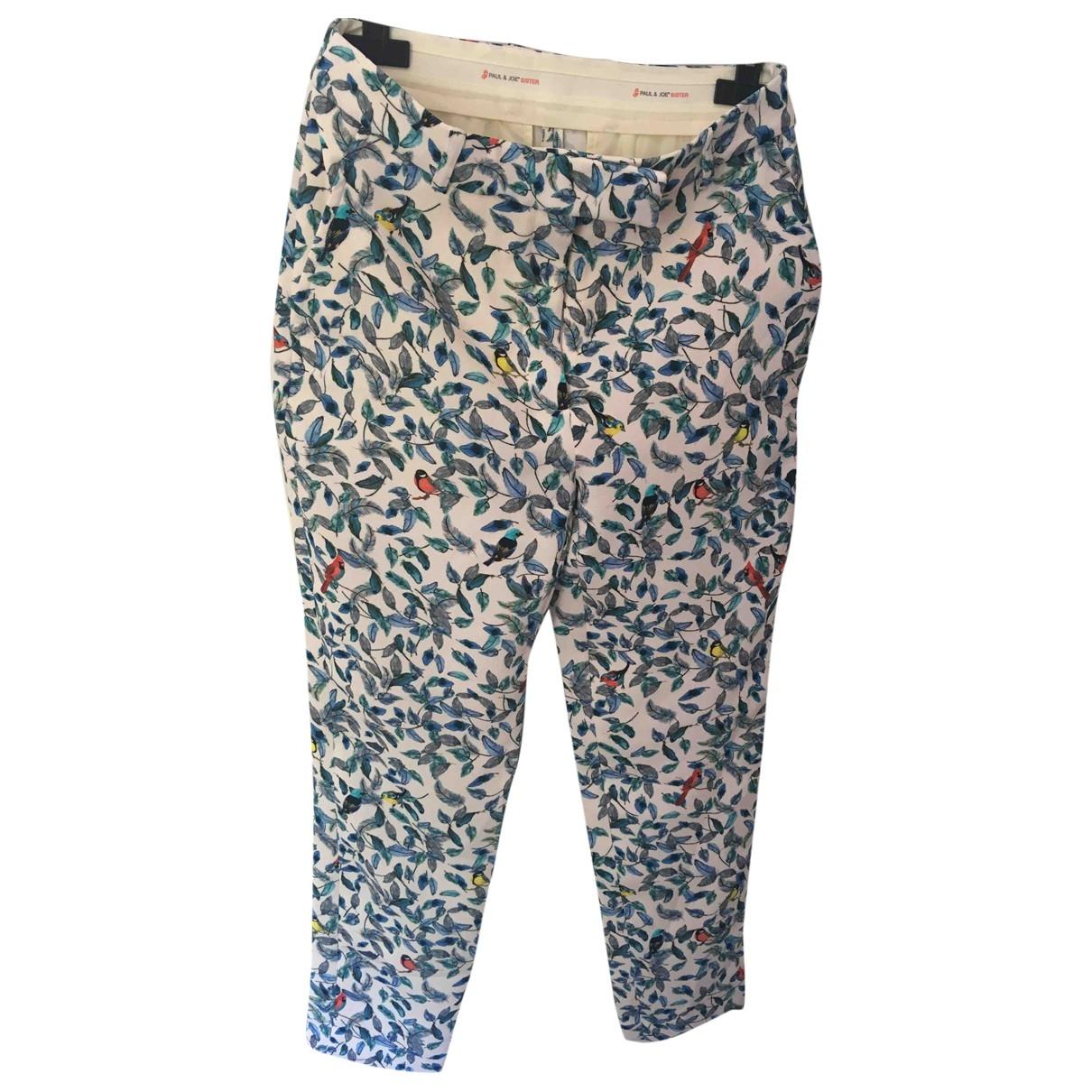 Paul & Joe Sister \N Blue Trousers for Women 38 FR