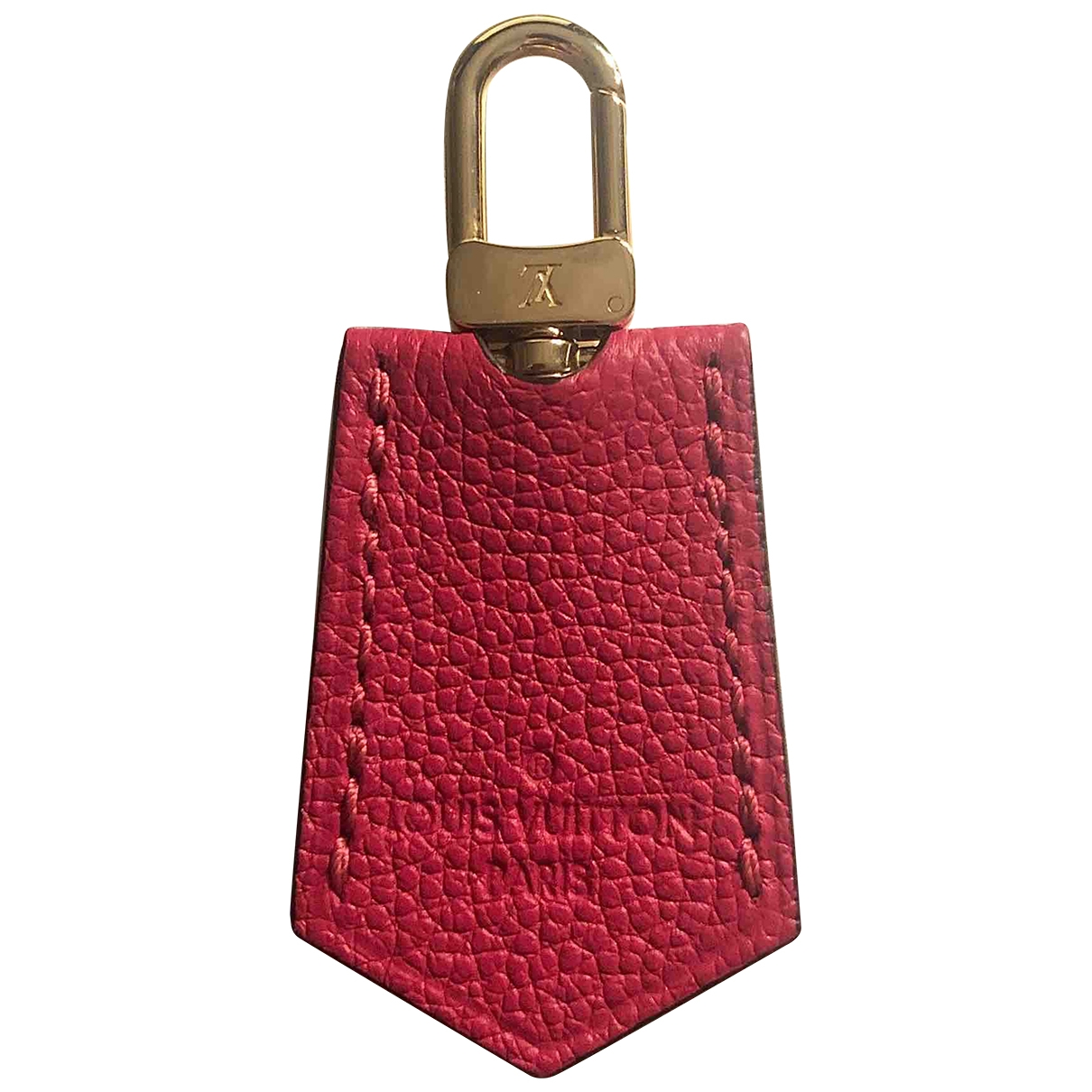 Louis Vuitton \N Pink Leather Bag charms for Women \N