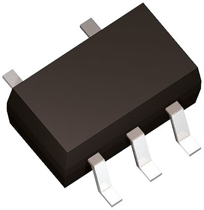 ON Semiconductor NCP752ASN33T1G, Low Noise LDO Voltage Regulator, 550mA, 3.3 V, ±2% 5-Pin, TSOP (25)