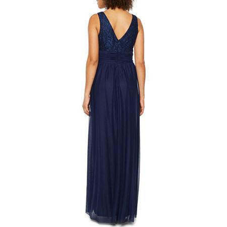 Jessica Howard Sleeveless Evening Gown, 8 , Blue