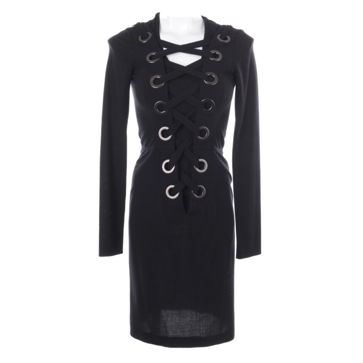 Givenchy \N Black Silk dress for Women 34 FR