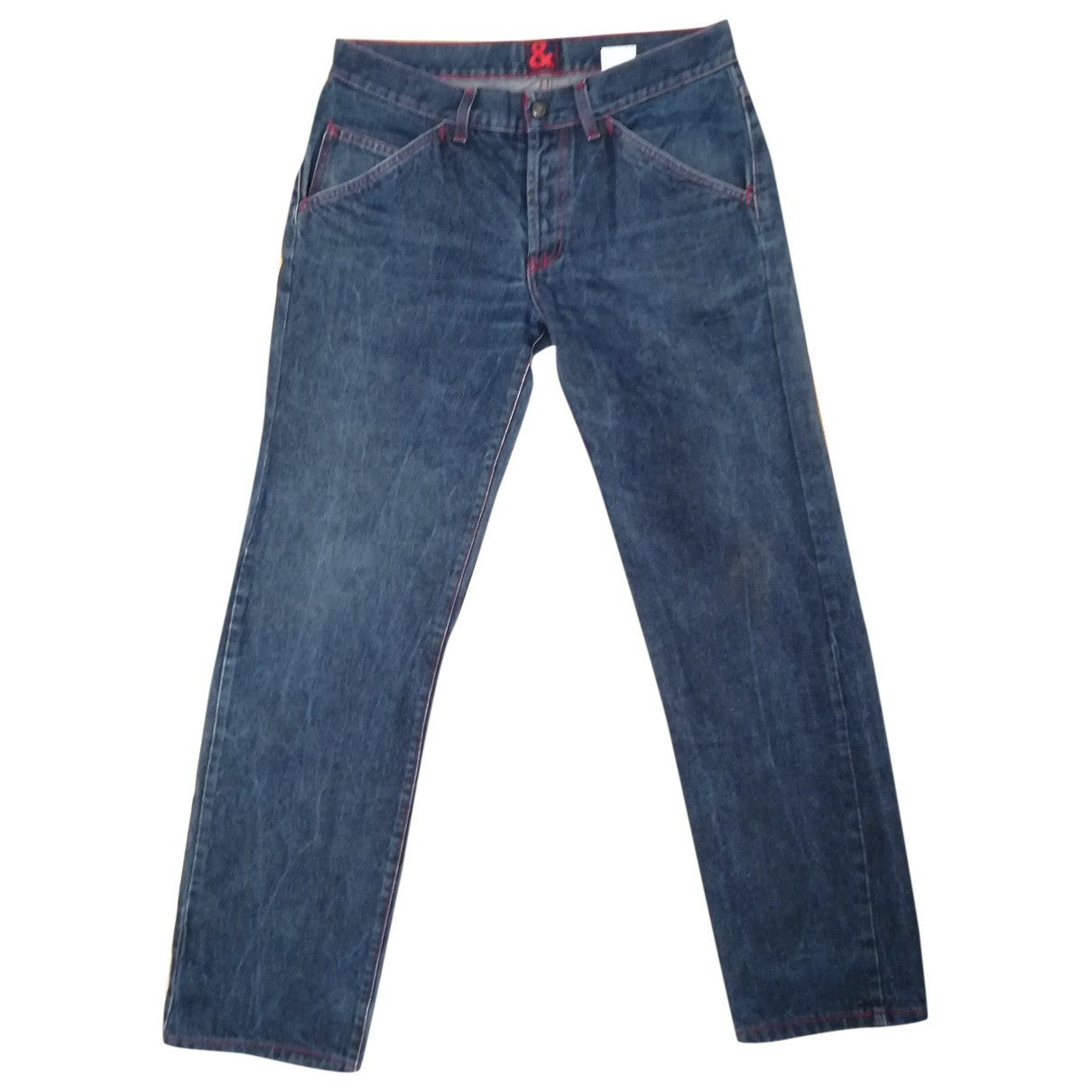 Dolce & Gabbana \N Blue Cotton Jeans for Men 34 US
