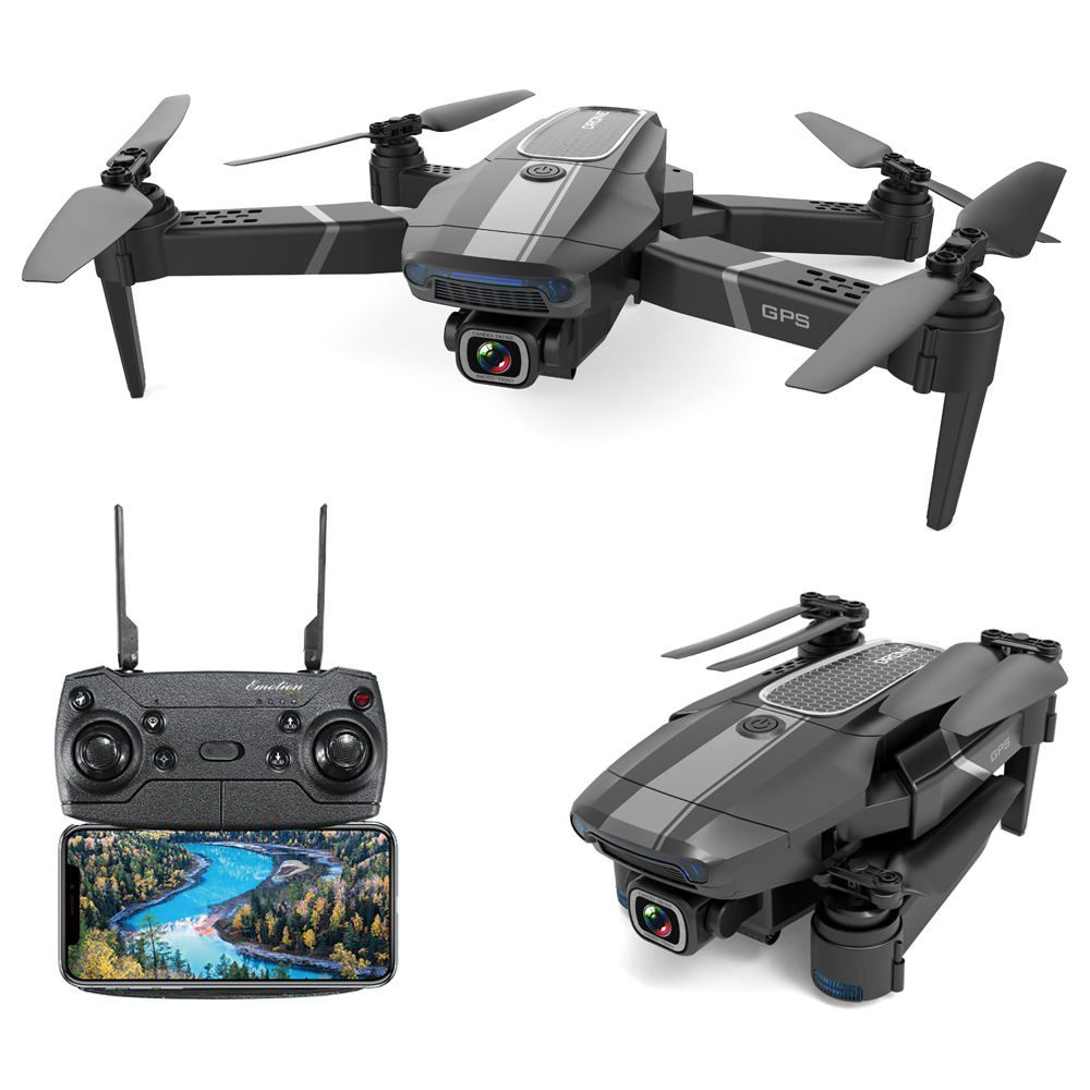JDRC JD-22S 4K FPV Foldable GPS RC Drone RTF Two Batteries With Bag