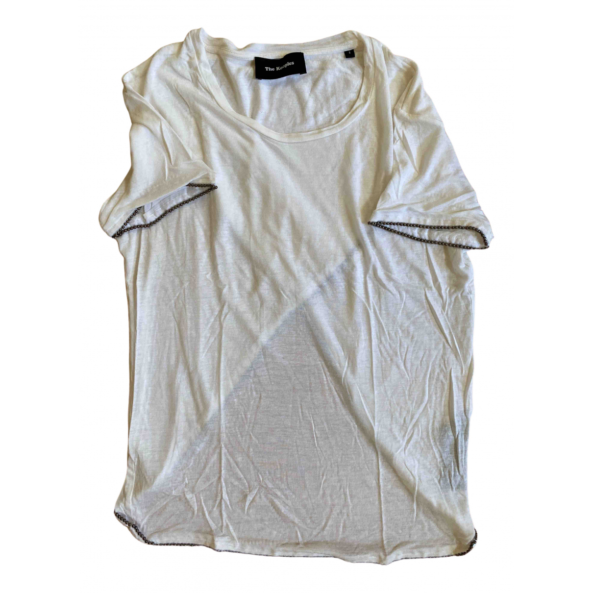The Kooples \N White Cotton  top for Women S International